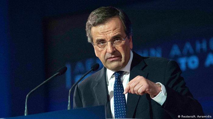 Griechenland Wahlen Januar 2015 Nea Dimokratia (Reuters/A. Avramidis)