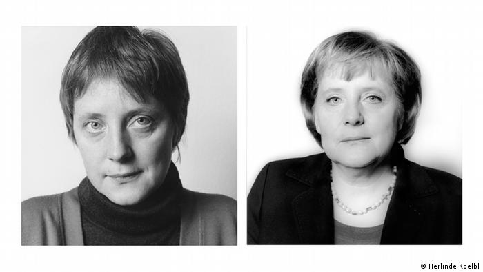 Angela Merkel photos by Herlinde Koelbl in series 'Traces of Power' (Herlinde Koelbl)