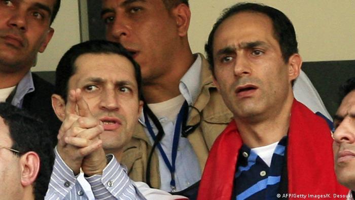 Alaa und Gamal Mubarak Archivbild 2010