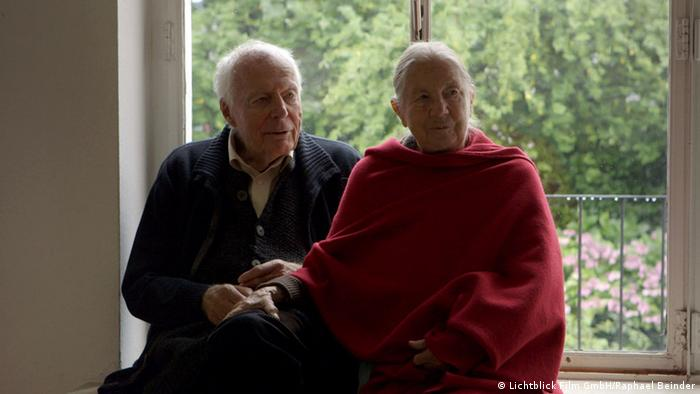 Gottfried Böhm und seine Frau