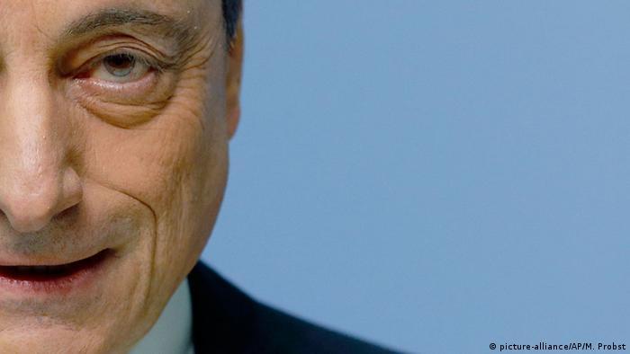 Mario Draghi Anschnitt