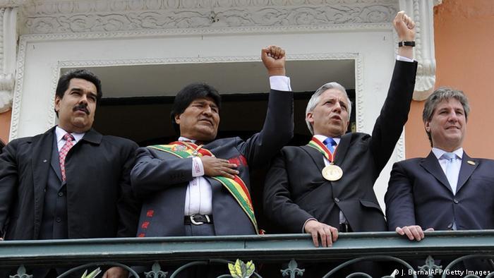 Evo Morales asume su tercer mandato | Europa | DW | 22.01.2015