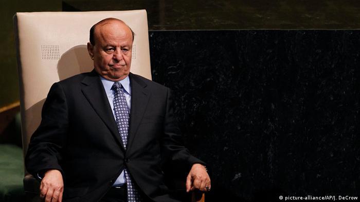 Yemeni ex-President Abed Rabbo Mansour Hadi