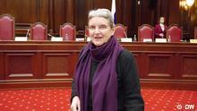 russische Bürgerrechtlerin Swetlana Gannuschkina in Sankt Petersburg