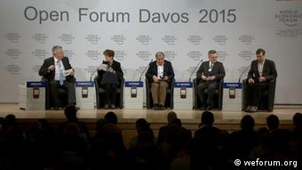Open Boarders Intendant Limbourg Moderator in Davos 22.01.2015