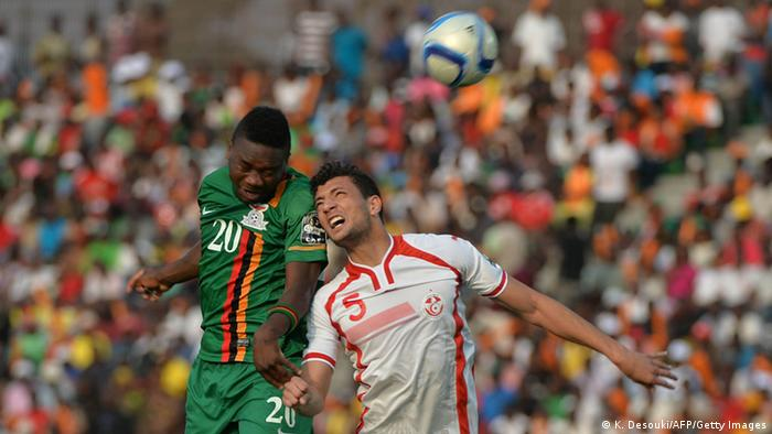 Afrika Cup Tunesien vs Sambia 22.01.2015 (K. Desouki/AFP/Getty Images)
