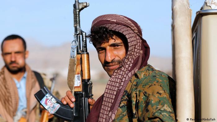 Machtkampf im Jemen 22.1.2015 (Reuters/Abdullah)