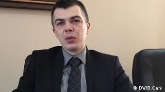 Der kosovarische Arbeitsminister Aleksandar Jablanovic (Foto: DW/B.Cani)