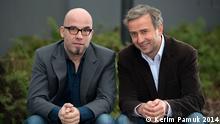 Deutschland Kabarettist Kerim Pamuk und Lutz von Rosenberg Lipinsky