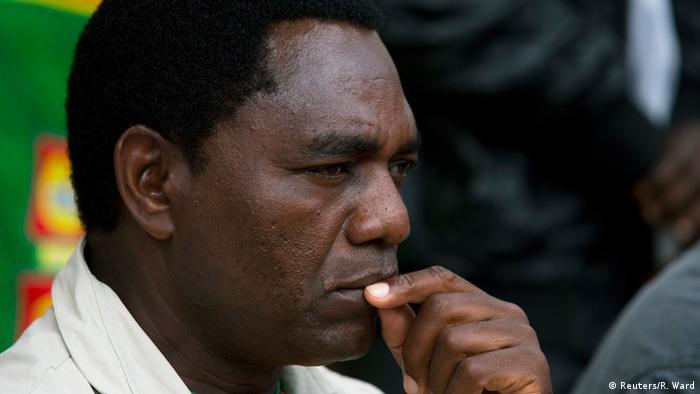 Sambia Präsidentschaftswahlen Hakainde Hichilema Archiv 18.01.2015