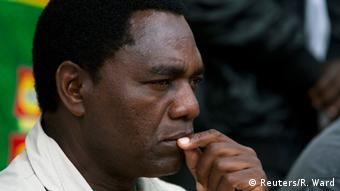 United Party for National Development (UPND) Presidential candidate Hakainde Hichilema