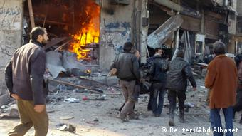 Syrien Angriff in Hamouria 23.1.2015