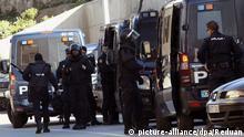 Spanische Sicherheitskräfte nehmen Terrorverdächtige in Ceuta fest
