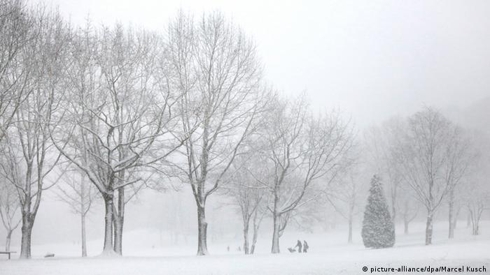 Schnee in Deutschland am 24.01.2015