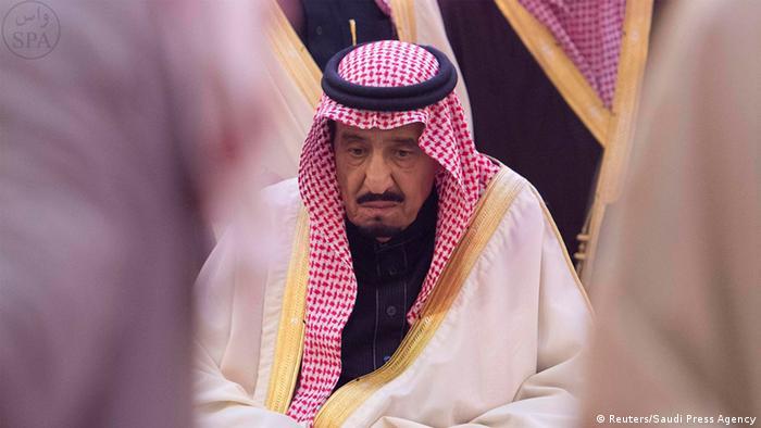 Saudi-Arabien Beerdigung von König Abdullah Salman ibn Abd al-Aziz trauert (Reuters/Saudi Press Agency)