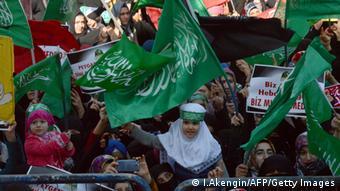 تظاهرات علیه شماره تازه مجله شارلی ابدو در ترکیه