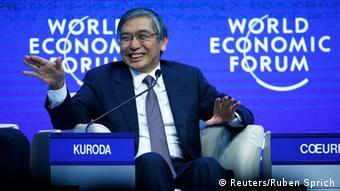 japanischer Zentralbankchef Haruhiko Kuroda