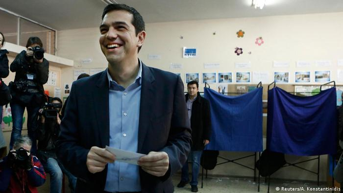 Alexis Tsipras Wahl in Griechenland 25.01.2015
