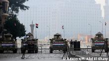 Ägypten Proteste zum Jahrestag des Aufstands in Kairo 25.01.2015