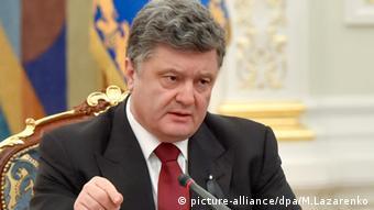 Ukraine Sitzung des Nationalen Sicherheitsrats in der Ukraine 25.01.2015