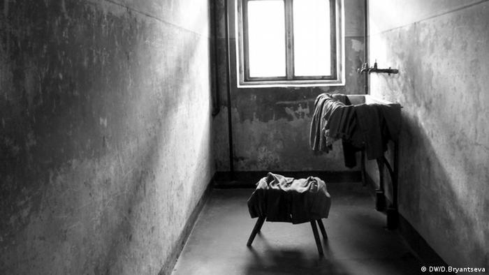 Камера ув'язненого в таборі Аушвіц 1