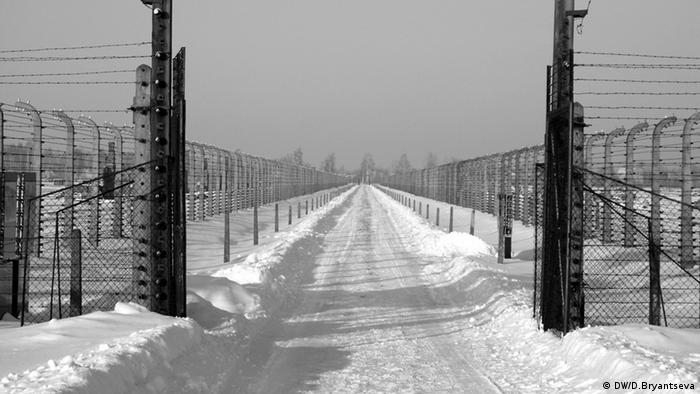 На территории, где был лагерь Аушвиц 2
