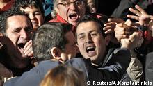 Griechenland Wahlen 2015 Jubel bei Syriza Alexis Tsipras