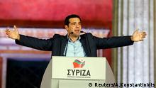 Griechenland Wahlen 2015 Jubel bei Syriza Alexis Tsipras