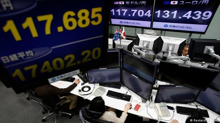 Börse Reaktionen auf Griechenland Wahl 26.01.2015 Tokio