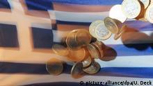 Symbolbild Griechenland nach der Wahl Zukunft Euro