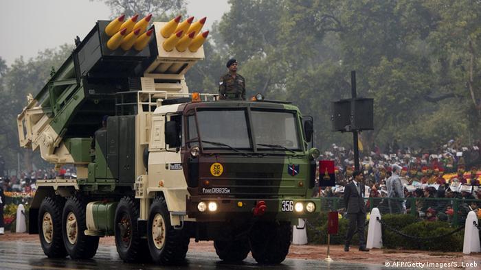 Indien Parade zum Tag der Republik 26.01.2015 Neu Delhi