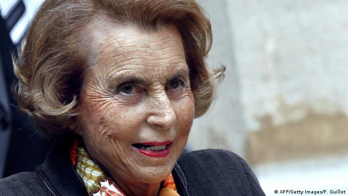 Liliane Bettencourt Archivbild 2011 Paris (AFP/Getty Images/F. Guillot)