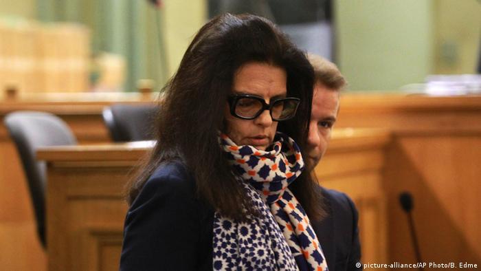 Liliane Bettencourt Prozess Tochter Francoise 26.01.2015 Bordeaux