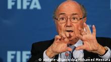 Joseph Blatter FIFA Präsident
