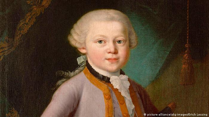 Mozart als Kind