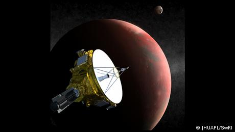 Pluto New Horizons Illustration