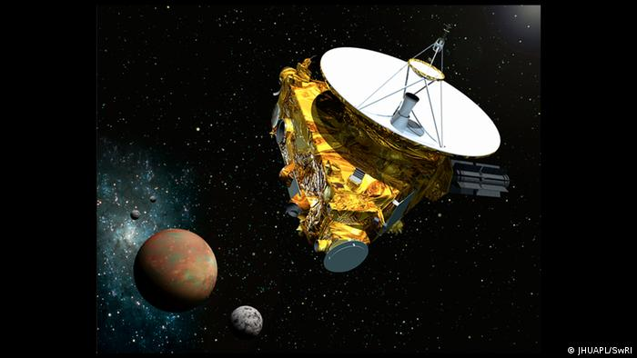 Pluto New Horizons Illustration (JHUAPL/SwRI)