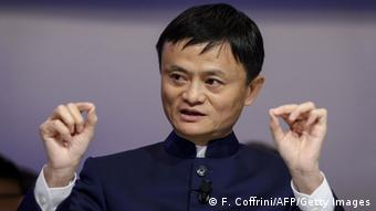 Jack Ma / Ma Yun Auftritt beim WEF in Davos 23.01.2015