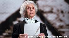 Auschwitz-Überlebende Eva Fahidi (Internationales Auschwitz Komitee 26.01.2015)