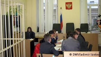 St. Petersburg Gerichtssaal Soldatenmütter von St. Petersburg 26.01.2015 (Foto:DW/Vladimir Izotov)