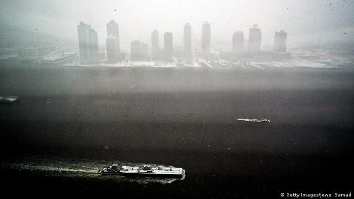 USA New York Blizzard Schnee Wetter