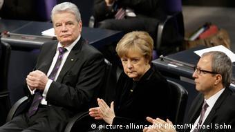 Bundestag Holocaust Gedenkstunde 27.01.2015