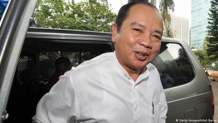 Burhanuddin Abdullah ehemaliger Gouverneur der Zentralbank Indonesien