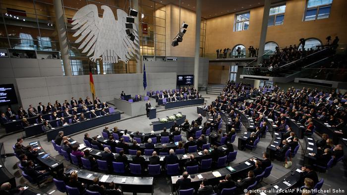 Bundestag Holocaust Gedenkstunde 27.01.2015 Gauck