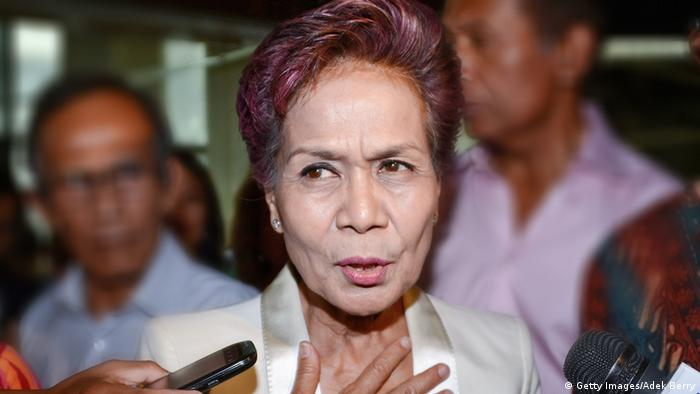 Miranda Goeltom ehemalige Vize-Gouverneurin der Zentralbank Indonesien