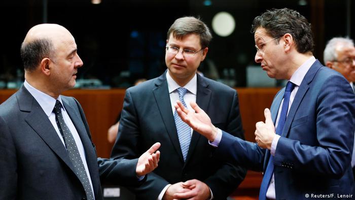 EU Finanzministertreffen in Brüssel 27.01.2015 (Reuters/F. Lenoir)