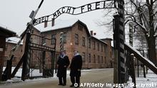 Holocaust Gedenkfeier in Auschwitz 27.01.2015