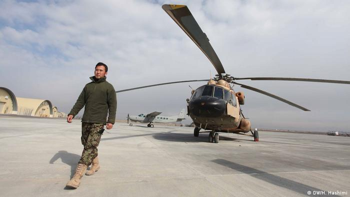 Afghanistan US Army Air Force Stützpunkt in Herat