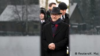 Holocaust Gedenkfeier in Auschwitz 27.01.2015 Steven Spielberg