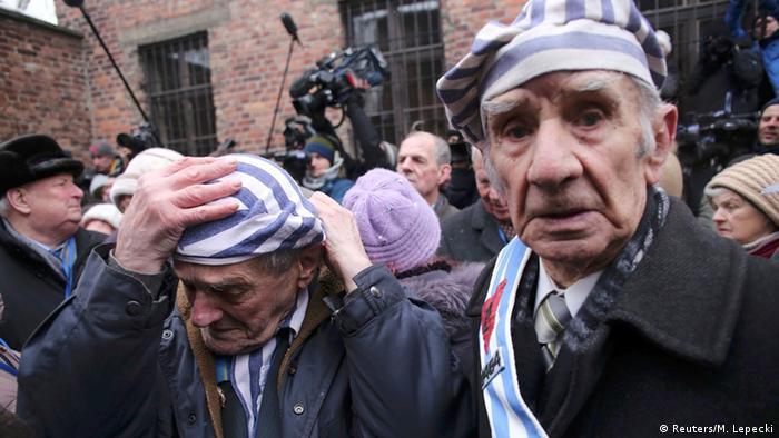 Preživjeli logoraši Auschwitza